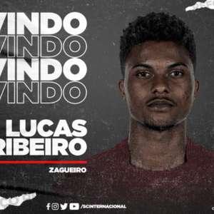 Internacional confirma a chegada do zagueiro Lucas Ribeiro