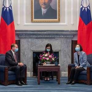 Presidente de Taiwan se reúne com secretário dos EUA