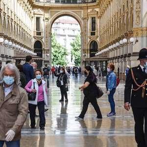 Itália tem mais 259 casos e 4 óbitos em pandemia