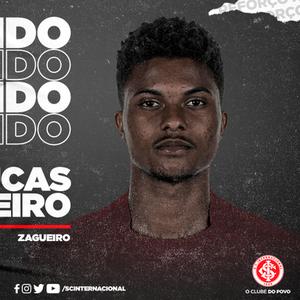 Inter anuncia contratação do zagueiro Lucas Ribeiro, ex-Hoffenheim