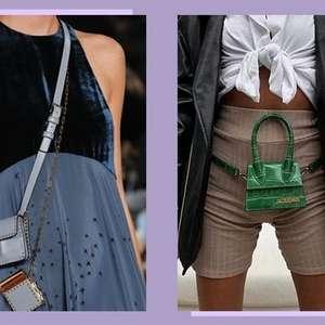 Saiba como usar as minibolsas, a nova tendência fashion