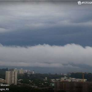 Quarta-feira de alerta para temporais no Rio Grande do Sul