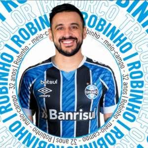 Grêmio confirma a contratação do meia Robinho
