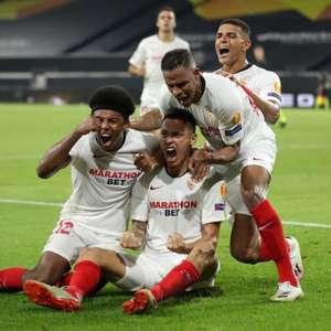 Com gol de Lucas Ocampos no final, Sevilla vence o ...