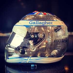 Chilton divulga capacete em homenagem a troféu Borg- ...