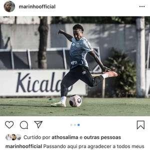 Marinho dá susto na torcida, mas diz que não deixa o ...