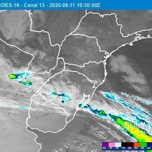 Tempo instável no Sul do Brasil nos próximos dias