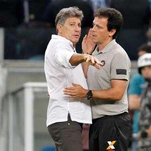 São Paulo e Grêmio estudam troca de Everton por Luciano