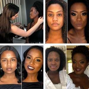 """Maquiadora branca é atacada por ensinar make a """"pretas"""""""