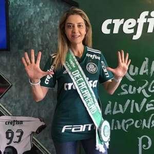 Leila Pereira admite que Santos salvou Palmeiras de rebaixamento em 2014: 'Todo mundo sabe disso'