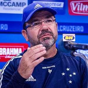 Enderson Moreira exalta meta alcançada pelo Cruzeiro nos ...