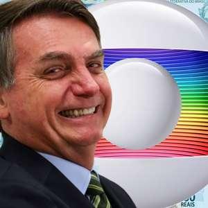 Bolsonaro corta 60% da verba publicitária do governo à Globo