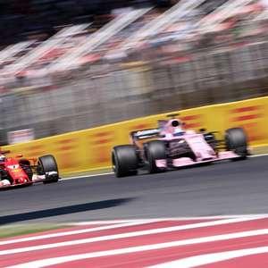 """Pérez diz que boatos sobre Vettel na Aston Martin """"vão ..."""