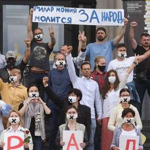 Belarus prende mais 700 pessoas em protestos contra governo