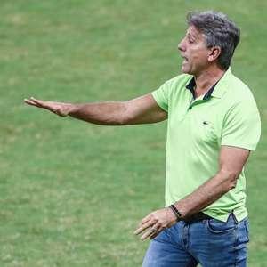 Renato, técnico do Grêmio, vê jogo pegado e truncado ...