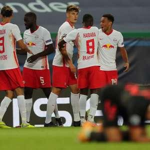 Jogadores do Atlético de Madrid se mostram frustados ...