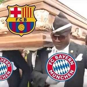 Goleada sofrida pelo Barcelona vira motivo de piada na ...