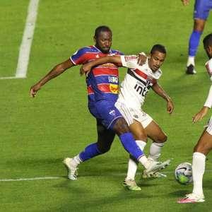 Fortaleza chega a marca de quatro jogos sem marcar um gol