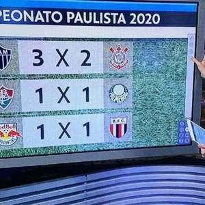 Globo confunde Brasileirão com Paulista e troca escudo ...
