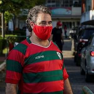 Presidente da Portuguesa chama atuação da arbitragem de ...
