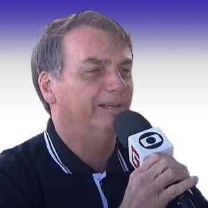 O dia que Bolsonaro pegou microfone da Globo e fez um pedido