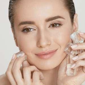 Aprenda 4 maneiras de usar gelo na rotina de beleza
