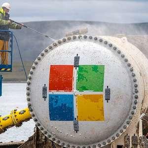 Por que Microsoft deixou 855 computadores no fundo do oceano por dois anos