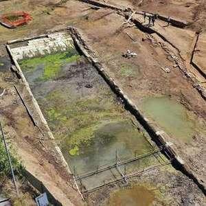 Arqueólogos acham complexo com 'piscina' do séc. 4 a.C na Itália