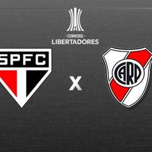 São Paulo x River Plate: prováveis times, desfalques e onde acompanhar