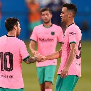 Messi brilha no 1º jogo após 'fico', e Barça vence Girona
