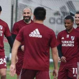 Sem jogos oficiais há seis meses, falta de ritmo desafia o River contra o São Paulo
