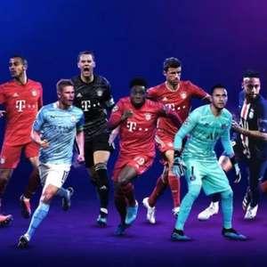 Uefa inclui Neymar na lista de candidatos ao prêmio de destaques da Liga dos Campeões