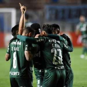 Gabriel Menino faz golaço e Palmeiras vence o Bolívar