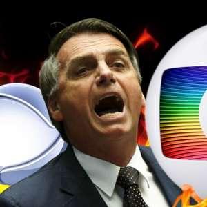 Bolsonaro acusa Globo e clã Marinho de corrupção bilionária