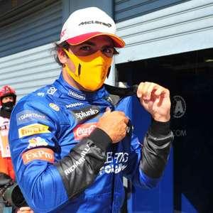 """Sainz revela que ficou """"um pouco bravo"""" com saída de ..."""