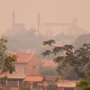 Cidade visitada por Bolsonaro tem 'ar insuportável' por ...