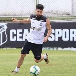 Ricardinho celebra sequência como titular no Ceará e ...