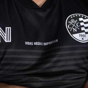 Com direito a retratação histórica, Náutico lança uniforme 'Vidas Negras Importam'