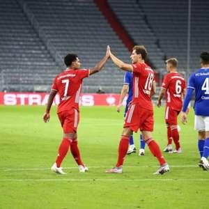 8 de novo! Bayern atropela Schalke na estreia do Alemão