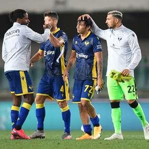 Roma empata com Hellas Verona no Campeonato Italiano