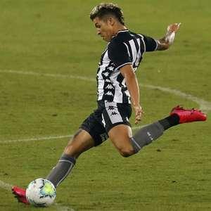 Botafogo: por precaução, Bruno Nazário não enfrenta o Santos