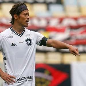 Sem Honda e com Rentería, Botafogo finaliza preparação para enfrentar o Santos; veja provável time