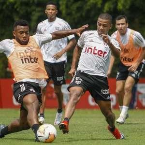De olho na LDU, Fernando Diniz comanda treino tático no ...