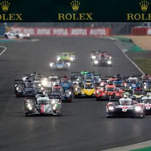 Toyota #7 abre 24 Horas de Le Mans na frente com Conway. ...