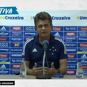 CRUZEIRO: Ney Franco diz que time precisa de ajustes para evitar os gols de bola parada após derrota