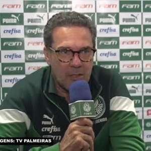 """PALMEIRAS: Luxemburgo comenta empate com o Grêmio e lamenta: """"A gente se incomoda porque deixamos escapar a vantagem no final"""""""