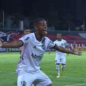 Com três gols de Keno, Galo vence o Atlético-GO e vira ...