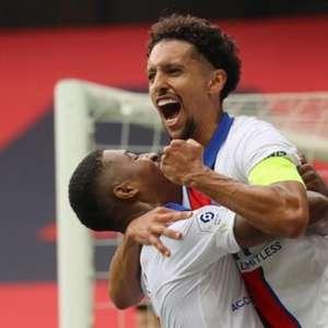 Com gol de Marquinhos, PSG vence Nice no Campeonato Francês