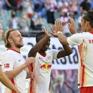 Leipzig vence na estreia do Alemão, e Wolfsburg fica no ...