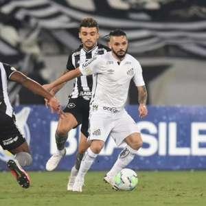 Botafogo e Santos não saem do zero pelo Brasileirão